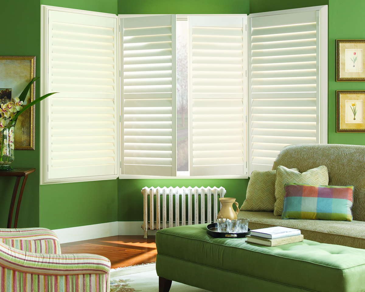 Interior Shutters On Bay Windows Taylor Shutters