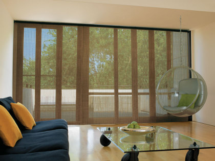 The Versatile Solution For Larger Windows Panel Tracks Feature Fabric Panels And A Wheeled Track System To Provide Seamless Covering