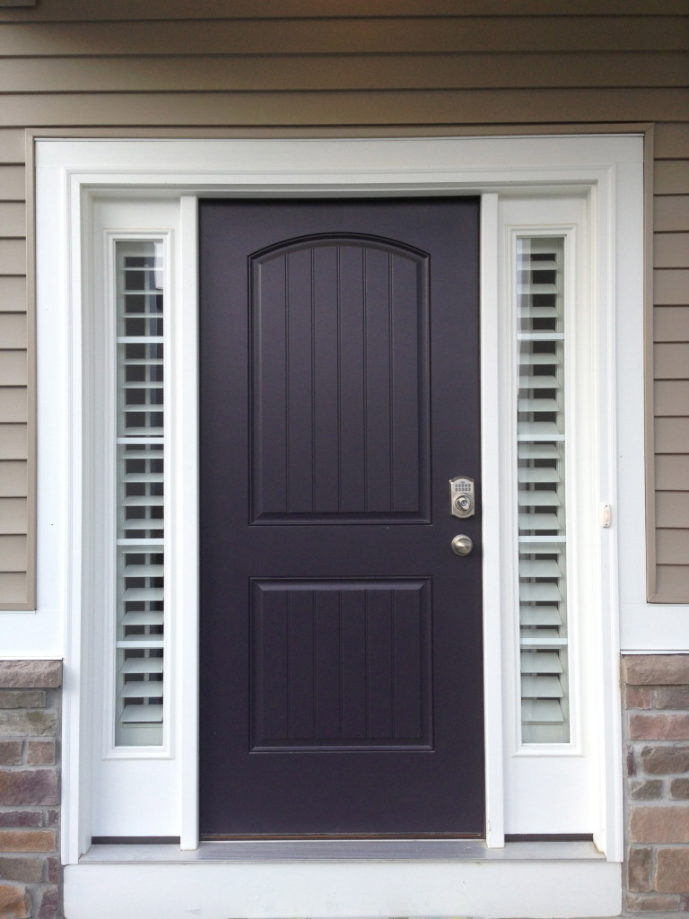 Shutters On The Entry Sidelights And Front Doors Taylor