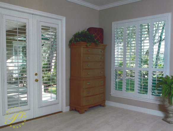 Shutters On French Doors