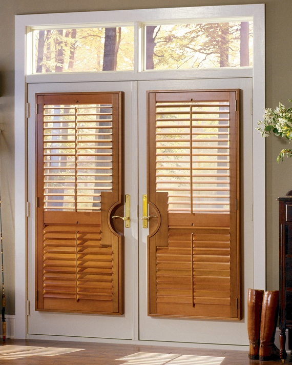 Charmant Shutters On French Doors